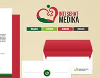 Logo & Stationery Inti Sehat Medika