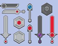 RPG Fantasy Weapons