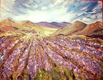 Bikes in a Lavender Field: NFS
