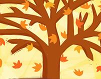 ::: Falling Leaves :::
