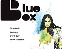 Magazine Blue Box