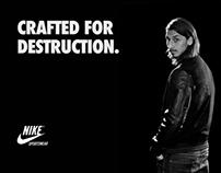 Sociala medier, design - Nike, AWB