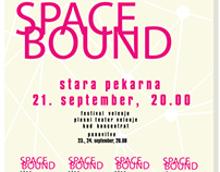 Space bound poster