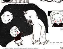 Monstruo y Niña