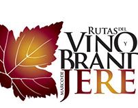 Propuesta Logotipo Ruta del Vino y Brandy