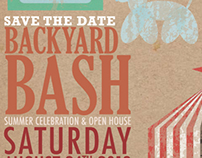 Backyard Bash-Save the Date & Invite