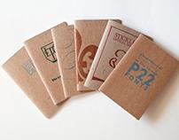 P22 Type Specimen Chapbooks