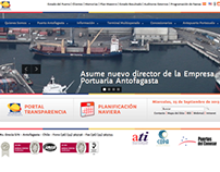 UI Design for Puerto Antofagasta | 2013