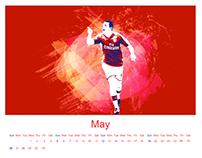 calendar, arsenalfootballclup calendar,