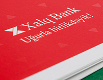 Xalq Bank brochure design