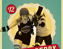 Roller Derby Poster 8.17.13