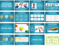 Universal Pitch Deck Eight PowerPoint Template