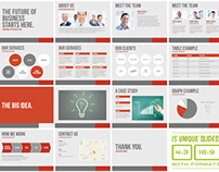 Universal Pitch Deck Two PowerPoint Template