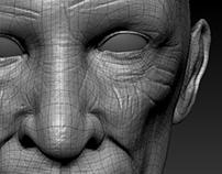 Old man's Head