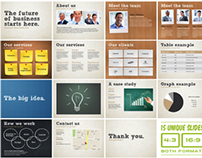 Universal Pitch Deck Five PowerPoint Template