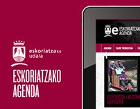 Eskoriatza | Culture Agenda · Responsive web design