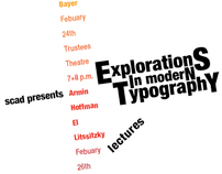 International Typographic Style - Lecture Posters