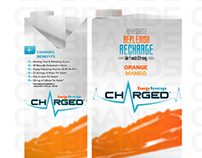 Charged Energy Beverage Packaging