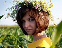 Sunny flowers,field/Российские просторы, солнце и цветы