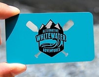 Stainless Steel Business Card for WhiteWater Adventues