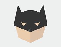 Superhero night / Batman / T-shirt