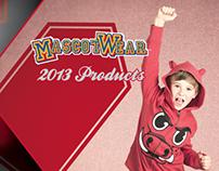 Mascotwear Product Catalog 2013