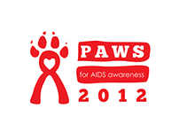 "North Idaho AIDS Coalition —""Paws For AIDS Awareness"""