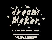 Dream Maker Gala Branding