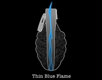 Thin Blue Flame