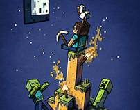 Minecraft Shirt Design for Jinx