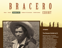 Bracero Exhibit Website