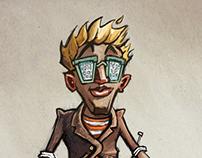 Cartoony IT-guy