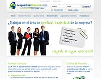 Sitio Web RespuestasLaborales.com