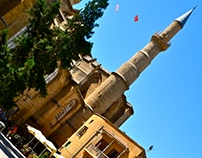 Nikosia (Lefkosa) - Church turned into Mosque
