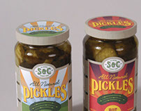 S & C All Natural Pickles