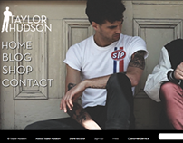 Taylor Hudson Website (student project)