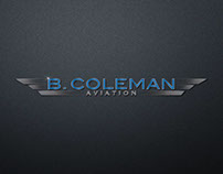 B. Coleman Aviation Corporate Identity