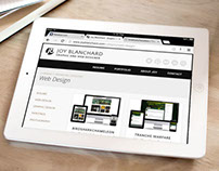 Joy Blanchard Web Design Resume