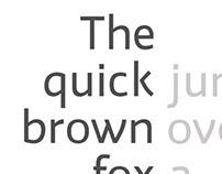 Hono Sans - Typeface