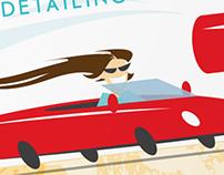 Brite & Groom Auto Detailing membership cards