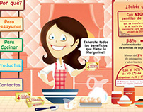 Website ¨La margarina es buena¨