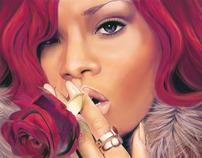 Digital Painting - Creating Rihanna