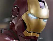Digital Painting - Creating Iron Man