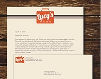 Lucy's Lunchbox Identity Package