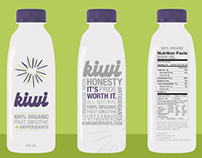 Kiwi - Fruit Juice Branding