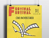 Festival De Cine - Afiche