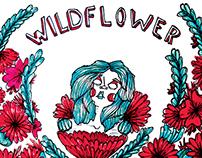 Wildflower Libro Rojo - Ilustración