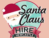Justin Charlton Santa Claus Hire Logo