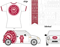 Cagney's Joint Branding - Vehicle/Letterhead/T-Shirt