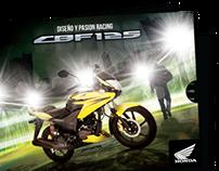 Mailing Honda CBF125